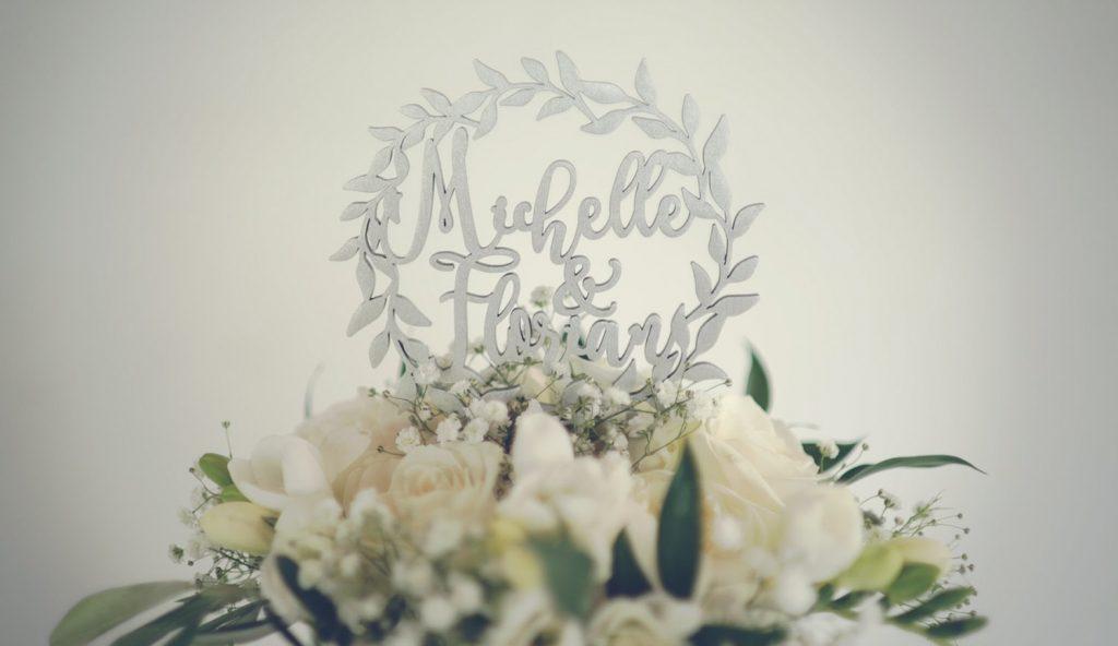 michelle florian wedding cake